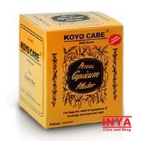 Koyo CABE CHILLI BRAND Box isi 20x10 Pieces - Muscle Medicated Patch