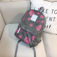 Tas Backpack IMPORT Cilo Cala abu-abu Snoopy Peanuts