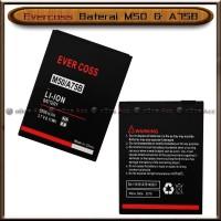 Baterai Evercoss M50 M50A A75B Double Power Batre Batrai HP