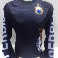 kaos jersey persija training roar hitam panjang liga 1 2018-2019