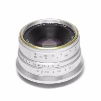 Lensa Wide 7Artisans 25mm F1 8 For Fujifilm X SILVER 7Artisan Fuji T