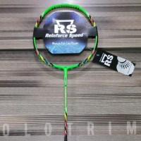 Best Promoo Raket Badminton RS Speed Core Bonus Tas Kaos Senar