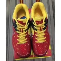 Best Promoo Sepatu Badminton RS SND Limited LTD Red / Yellow