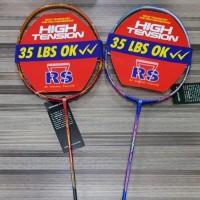 Best Promoo Raket Badminton RS Dura 35T 35 T Plus Bonus Tas Kaos Senar