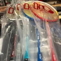 Best Promoo Raket Badminton HQ HiQua Storm Strada Bonus Tas, Senar