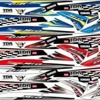 Striping variasi stiker lis bodi Mio sporty mio smile NL052