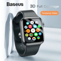 TEMPERED GLASS APPLE WATCH SERIES 1 2 3 SIZE 42MM FULL COVER BY BASEUS