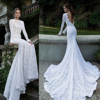 New White Ivory Wedding Dress Prom Gown Evening Formal Party Cocktail
