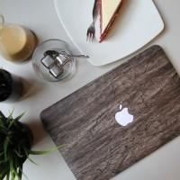 macbook New Air 13 Inch hard case mac cover skin wood kayu
