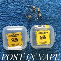 FUSED CLAPTON 28 NI80 HG 28x2 40 - BY COIL GEAR AUTHENTIC COIL