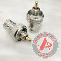 Konektor Connector Antena HT Motorola Jarum GP68 GP88 To BNC Female