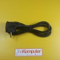 Kabel power lubang 3 untuk adaptor charger laptop