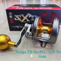 Reel Jigging OH Team Xzoga TX-S51PG - Left Handle