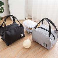 Lunch Bag Kantong Tas Bekal Rantang Kotak Makan Cooler Bag Simple