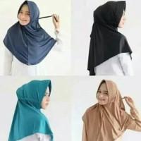 khimar hijab serut jokowi instan termurah