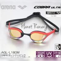 Kacamata Renang ARENA COBRA ULTRA MIRROR AGL-180M Red