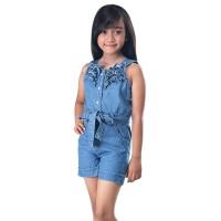 setelan baju anak perempuan,baju anak,setelan jeans anak SRT 715