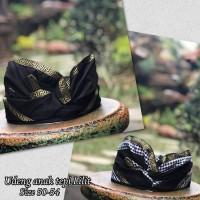 Pakaian adat bali topi udeng batik anak khas bali
