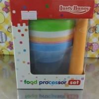 Lusty Bunny Food Processor Rainbow New Dus