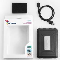 """ADATA ED600 Enclosure Eksternal Case HDD/SSD 2.5"""" Shock & Water Proof"""