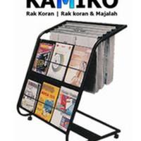 BEST SALE RAK KORAN DAN MAJALAH KAMIKO 611 READY STOK