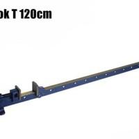 CATOK T 120 CM - HEAVY DUTY T BAR SASH CLAMP / ALAT PRESS PAPAN KAYU