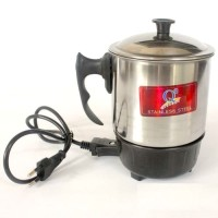 Q2 8015 Electric Heating Cup - Mug Pemanas Air - Teko Listrik 15cm