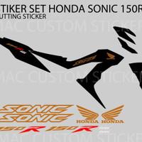 STICKER LOGO HONDA SONIC - STRIPING 1 SET - GOLD