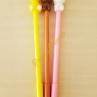 Pulpen Gel Model Boneka Line (New Produk)
