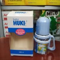Huki Round Bottle with Handle 120ml