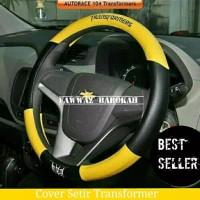 Aksesoris Cover setir Stir Sarung Setir Stir Mobil TOYOTA AGYA KUNING