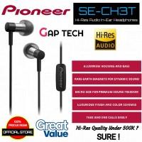 Pioneer SE-CH3T High Resolution In-Ear Earphones