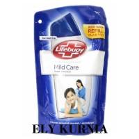 Lifebuoy Body Wash Mild Care Refill 450 ML / Sabun Cair