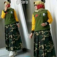 Produk New Baju Muslim Wanita Zarra Set