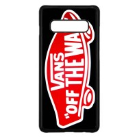 Hardcase Samsung S10 Logo Vans Off The Wall Shoes Red A1330