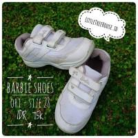 Preloved Barbie Sport Shoes / Sepatu olahraga / kets anak original
