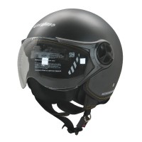 Helm Cargloss YR Ghotic Helm Half Face - Anchor Grey Doff