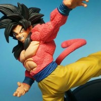 Dragon Ball Banpresto Son Goku Super Saiyan 4 Fes Anime Figure
