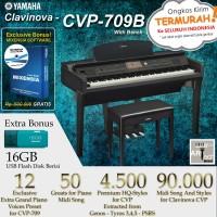 Yamaha Clavinova CVP 709 / CVP-709 / CVP709 B - Digital Piano