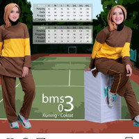 Believe BMS 03 - Baju Muslim Senam Olah Raga Syar'i Termurah Original