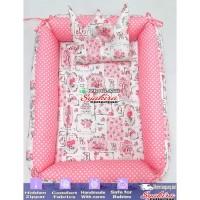 baby nest kotak motif romantic garden