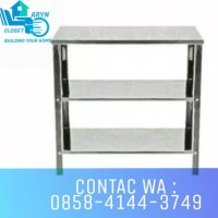 MEJA KOMPOR / MEJA STAINLESS / MEJA PORTABLE / ROYAL ST 200