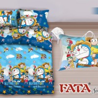 FATA - Bed Cover Single Set Doraemon