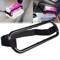 car holder tissue atau penjepit tempat tissue mobil