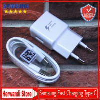 Charger Samsung Galaxy A8 A8+ 2018 ORIGINAL 100% Fast Charging Type C