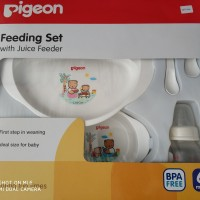 Pigeon Feeding Set with Juice Feeder