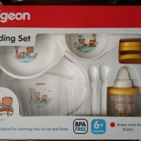 Pigeon Feeding Set with Mag-Mag