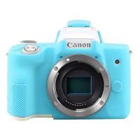 Silicone Canon EOS M50 Silikon Case / Sarung Silicon Kamera - Blue