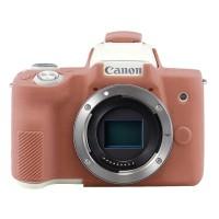 Silicone Canon EOS M50 Silikon Case / Sarung Silicon Kamera - Brown