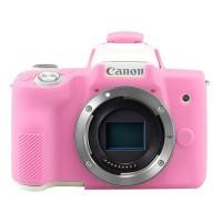 Silicone Canon EOS M50 Silikon Case / Sarung Silicon Kamera - Lo Pink